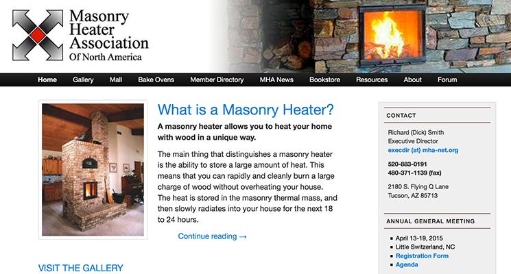 Masonry Heater Association of North America